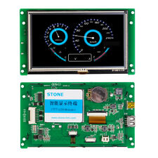 Tft Lcd Hmi Display Module With Controllerprogramtouchuart Serial Interface