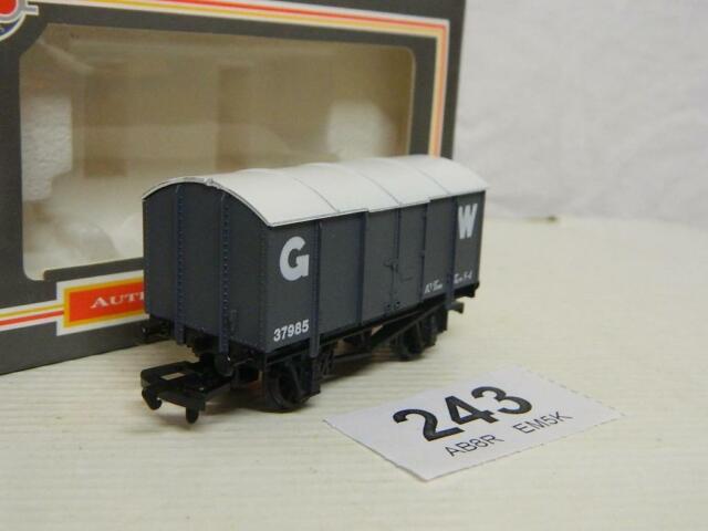 Dapol OO GWR Iron Mink Gunpowder Wagon 37985 Box B312