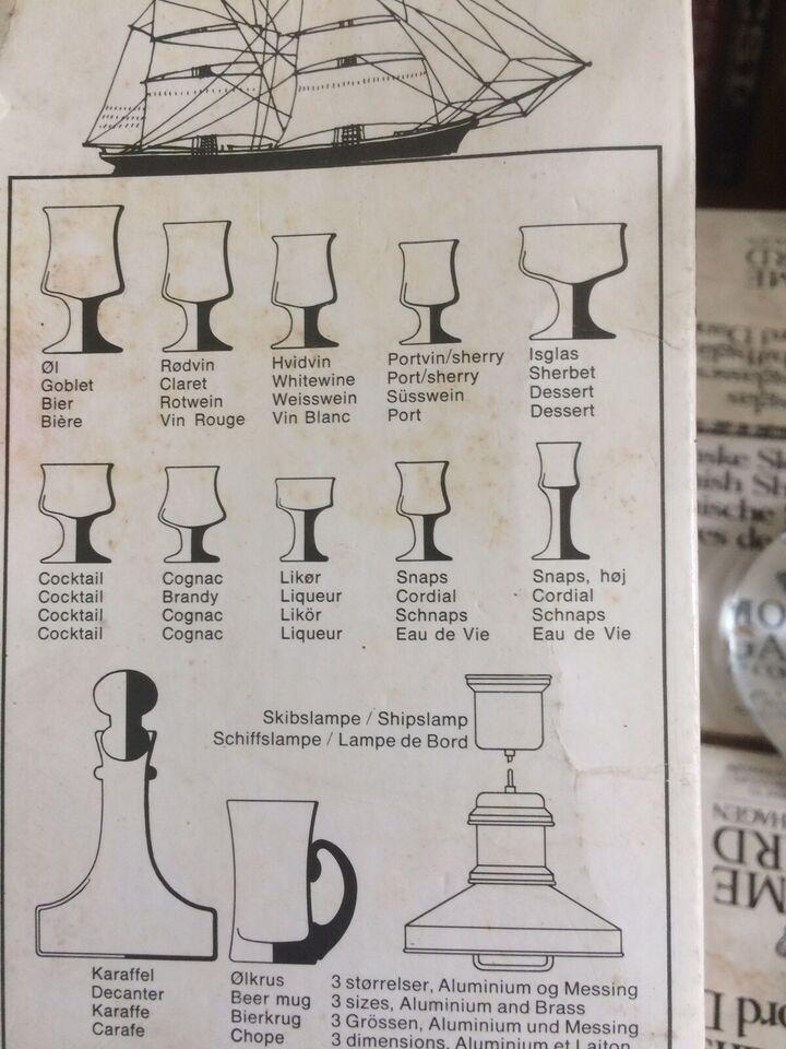 Glas, Skibsglas, Holmegaard