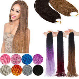 Pro Sew In Braid Senegalese Twist Braids Braiding Crochet Hair