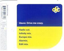 U.S.U.R.A. Drive me crazy (1994) [Maxi-CD]