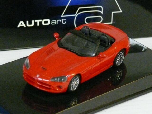 1/43ème DODGE : 2003 VIPER SRT-10 ROUGE - AUTOART Réf. 51701 - NEUVE EN BOITE