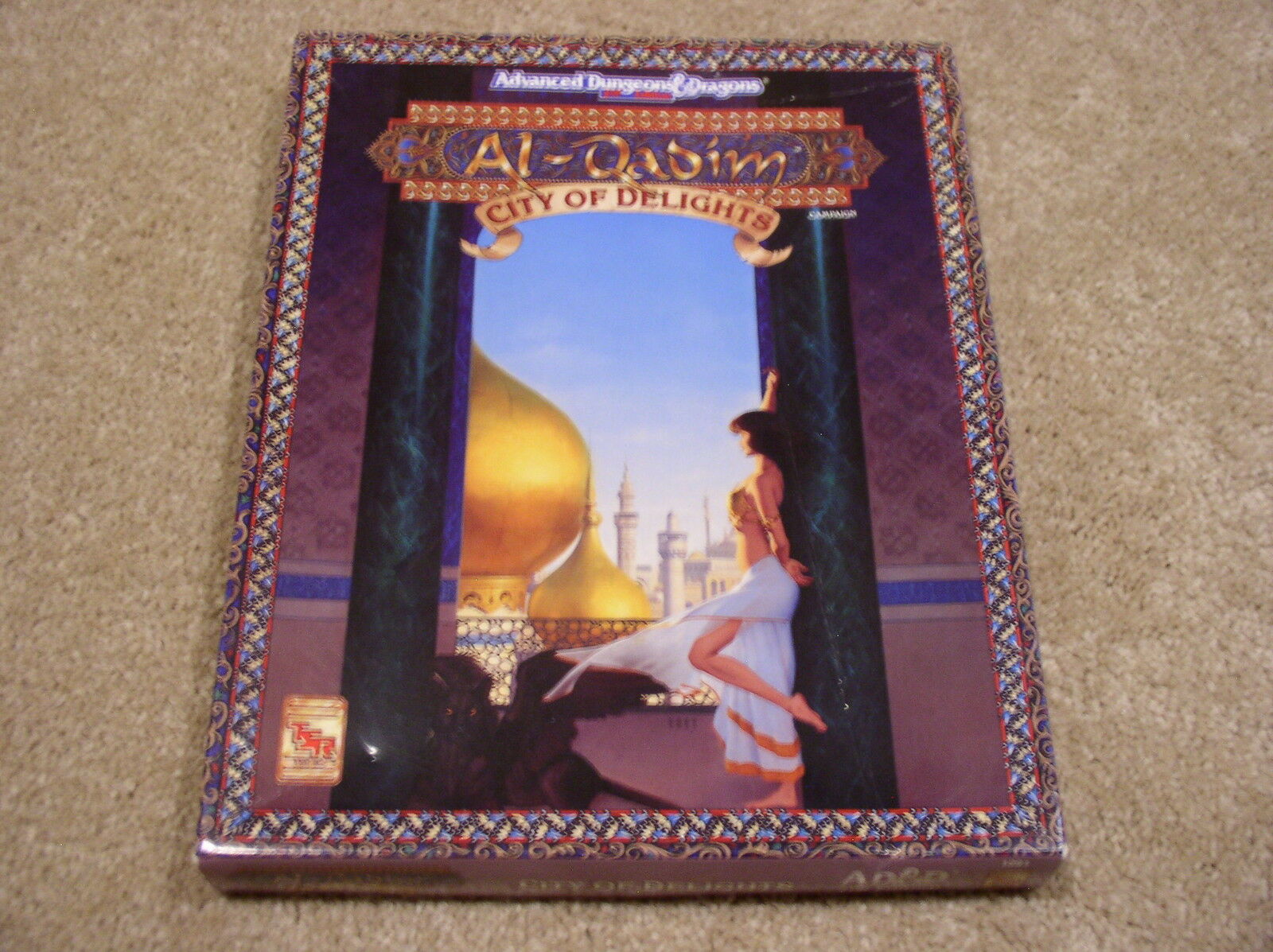 AD&D Al-Qadim City of Delights boxed set