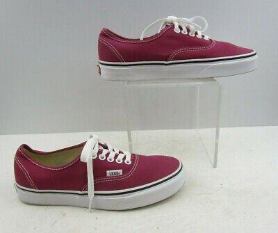 Ladies VANS Raspberry Lace Up Shoes
