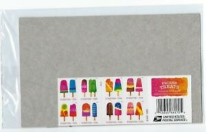 scratch-and-sniff-USPS-Sealed-2018-Frozen-Treats-Booklet-of-20-Forever-Stamps