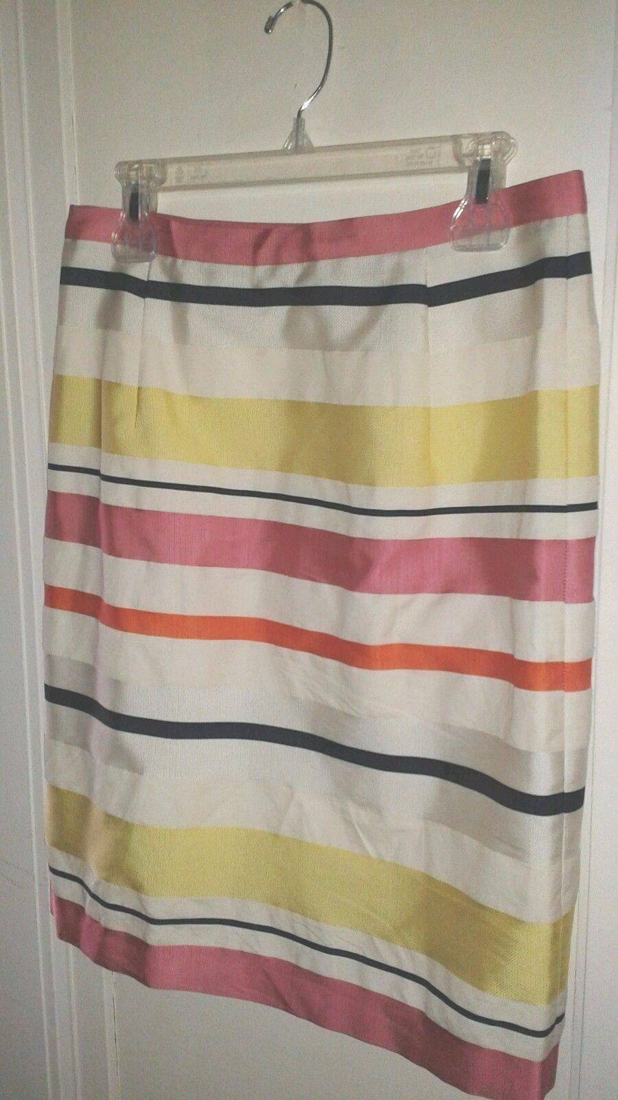 MAX MARA Weekend Linen Blend Skirt Size 10
