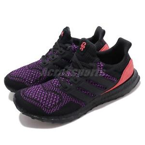 f6230122c adidas UltraBOOST CBC Black Purple Pink Men Running Training Shoe ...