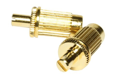 for many import guitars Large post metric import studs and anchors Gold