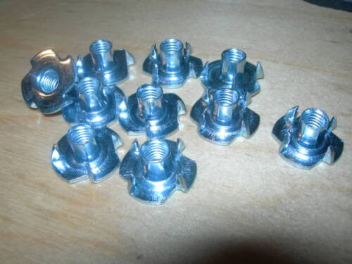 4 Prong BZP Pack of 10 M10 T NUTS