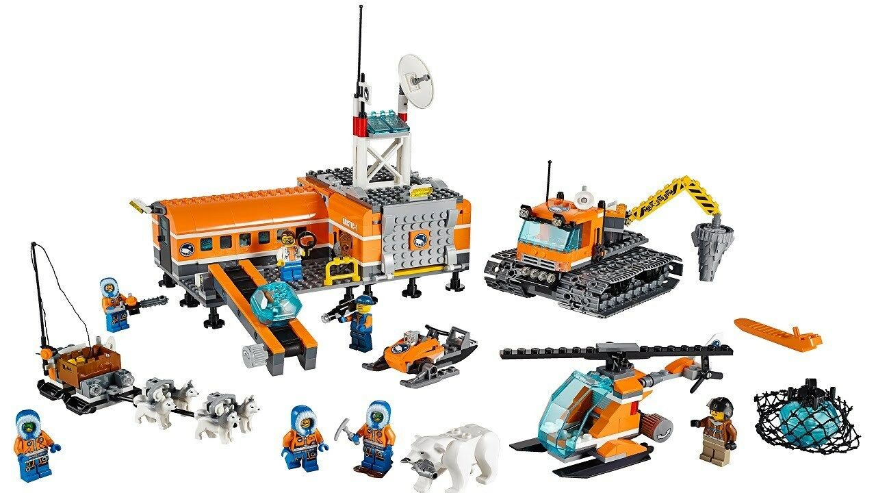 LEGO City Arctic Base Camp 60036 Complete With Instructions And Box