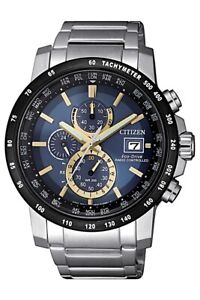 Citizen-Men-039-s-Eco-Drive-Radio-Controlled-Chronogrpah-43-5mm-Watch-AT8124-83M