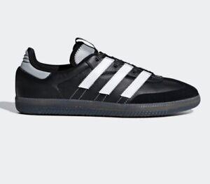 da162d44dd3 Details about Adidas Samba Og Ms Trainers Size 8 Black White Reflective Bnib