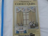 Donna Gallagher 890 Nursery Cornice Quilts Pieced Valance Sewing Pattern