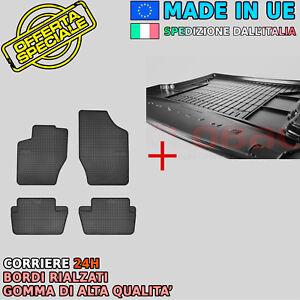 Tappetini e Vasca Baule per CITROEN C4 II hatchback 2010 in poi su misura in