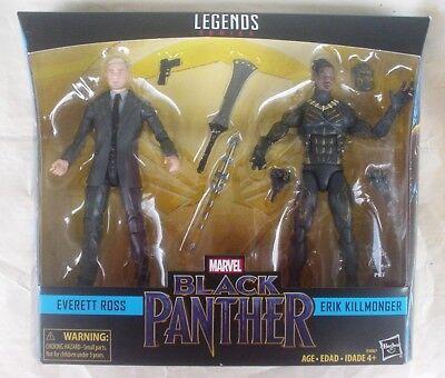 Marvel Legends Black Panther Erik Killmonger Target Exclusive 2 Pack