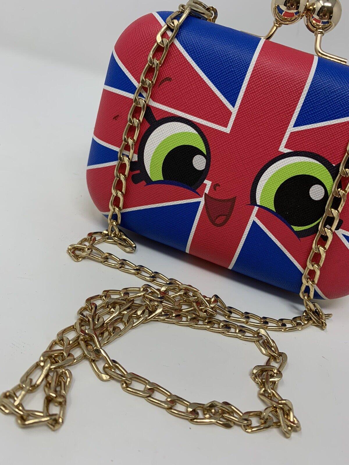 Shopkins BRITNEY Purse Union Jack Shoulder Bag wi… - image 4