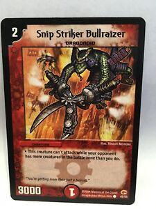 Snip-Striker-Bullraizer-42-55-Duel-Maitres-Trading-Carte-Jeu-Simple-Carte