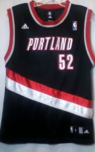 Adidas Portland Trail Blazers NBA Greg Oden 52 Basketball Jersey ... 546a69b22