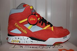 finest selection 18cea fdac5 Image is loading DS-REEBOK-THE-PUMP-20TH-PUMP-OMNI-ZONE-