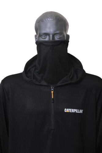CAT Caterpillar Guardian Hoodie 1//4 Zip Workwear Sweat Shirt Homme