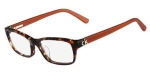 086643939c Image is loading NEW-Calvin-Klein-Eyeglasses-ck5691-503-Havana-Caramel-