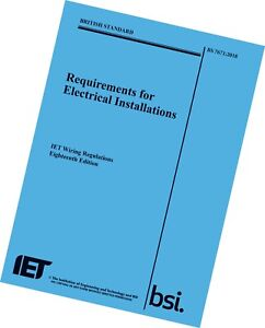 Image Is Loading Iet Wiring Regulations Bs7671 9781785611704 Blue Book
