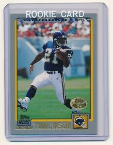 LADAINIAN-TOMLINSON-2001-TOPPS-COLLECTION-350-RC-SAN-DIEGO-CHARGERS
