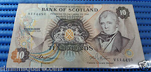 1981-Bank-of-Scotland-Ten-10-Pounds-V114491-Circulated-Banknote-Currency
