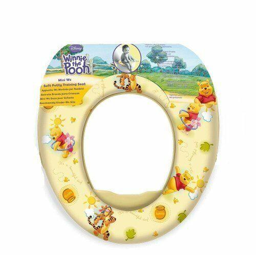 Disney Kinder Winnie Pooh Baby Weich Gepolstert Toilettentraining Wc Wc-Sitz