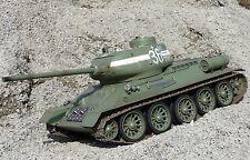 RC PANZER Russischer T34/85 MIT GEFECHTSIMULATION 1:16 Torro 707