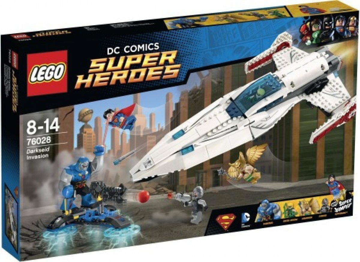 LEGO 76028 Super Heroes Darkseids Überfall NEU OVP