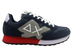 Scarpe da per uomo SUN 68 JAKI Z31110 sneakers basse casual sportive comode blu