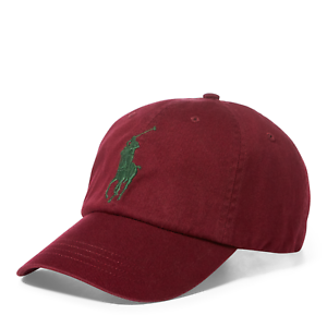 09e80b66c64fa NEW Polo Ralph Lauren Baseball Cap Hat Big Pony Adjustable LEATHER ...
