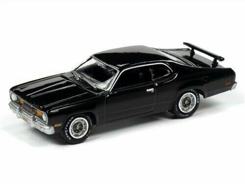 1971 Plymouth Duster 340 Black *RR* Johnny Lightning Muscle 1:64 NEU