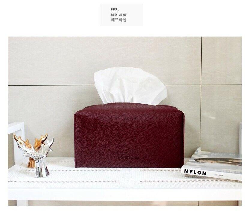 HoneyJam Luna Living Popular in Korea Tissue case / cover [Red Wine]