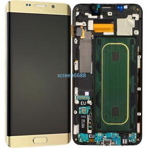 Pantalla-LCD-Tactil-Display-Marco-Para-Samsung-Galaxy-S6-Edge-Plus-SM-G928F-Oro
