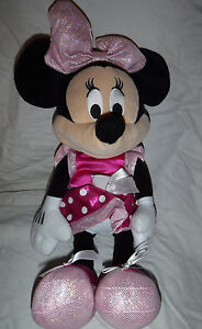 "Just Play Disney Talking Minnie Mouse 17"" Plush Soft Toy Stuffed Animal"