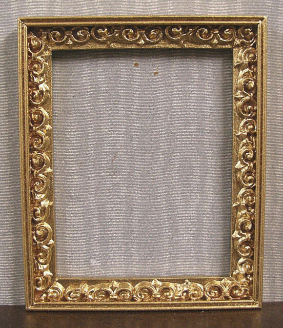 EMPTY  PICTURE  FRAME ~ Jim Coates~  Dollhouse Miniature ~ 1:12 scale ~ Room Box