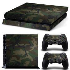 PS4 Skin Camouflage Designfolie Sticker Playstation 4 Vinyl Schutzfolie - Matt