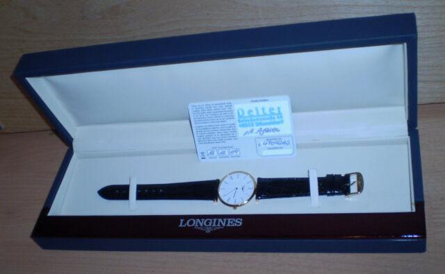 Longines, Reloj de Pulsera Hombre/Mujer ,sin Gastar, Cuarzo, Certificado, Caja,