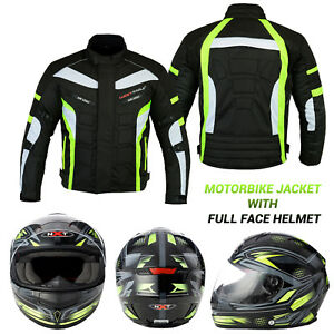 Motorbike-Motorcycle-Jacket-Waterproof-Breathable-Biker-Full-Face-Helmet-Crush