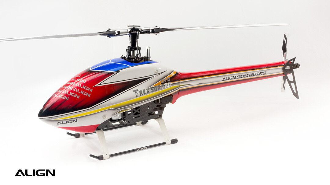 Align T-REX 500E Pro Speed Fusoliera-Rosso HF5023T