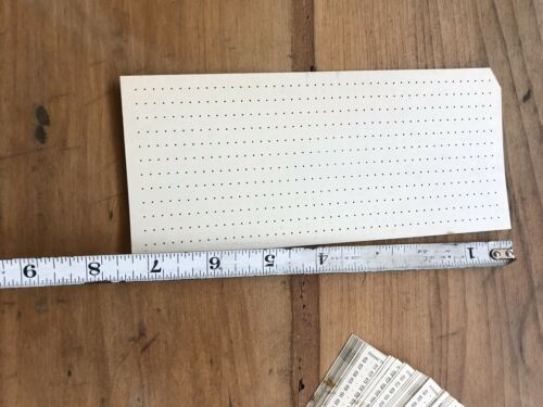 Qty 50 Vintage Remington Rand Time Cards No 21021 Factory Salvage Industrial