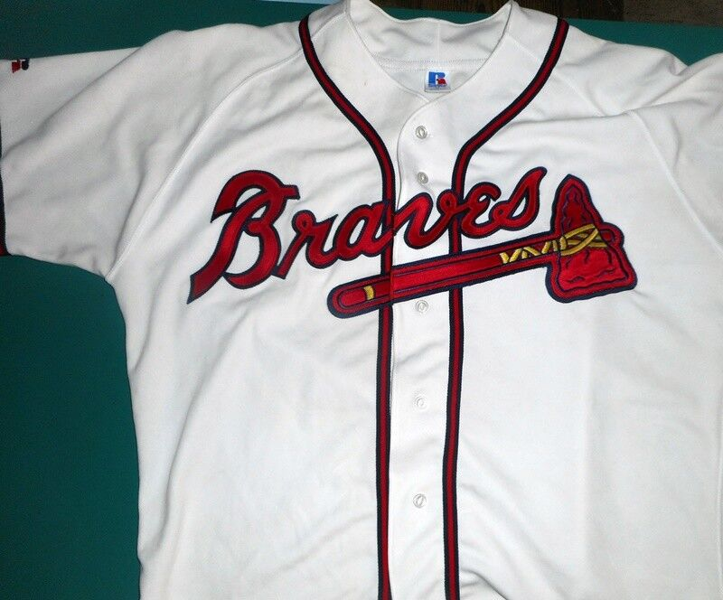 Vintage Authentic Atlanta Braves 1992 Russell Brand Baseball Jersey Brand NEW