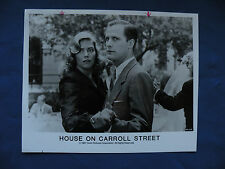 House on Carroll Street studio release Photo 8X10 B&W movie 1987 Orion Pictures