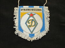 fanion wimpel pennant football ancien vintage DYNAMO MOSCOU MOSKWA RUSSIA RUSSIE
