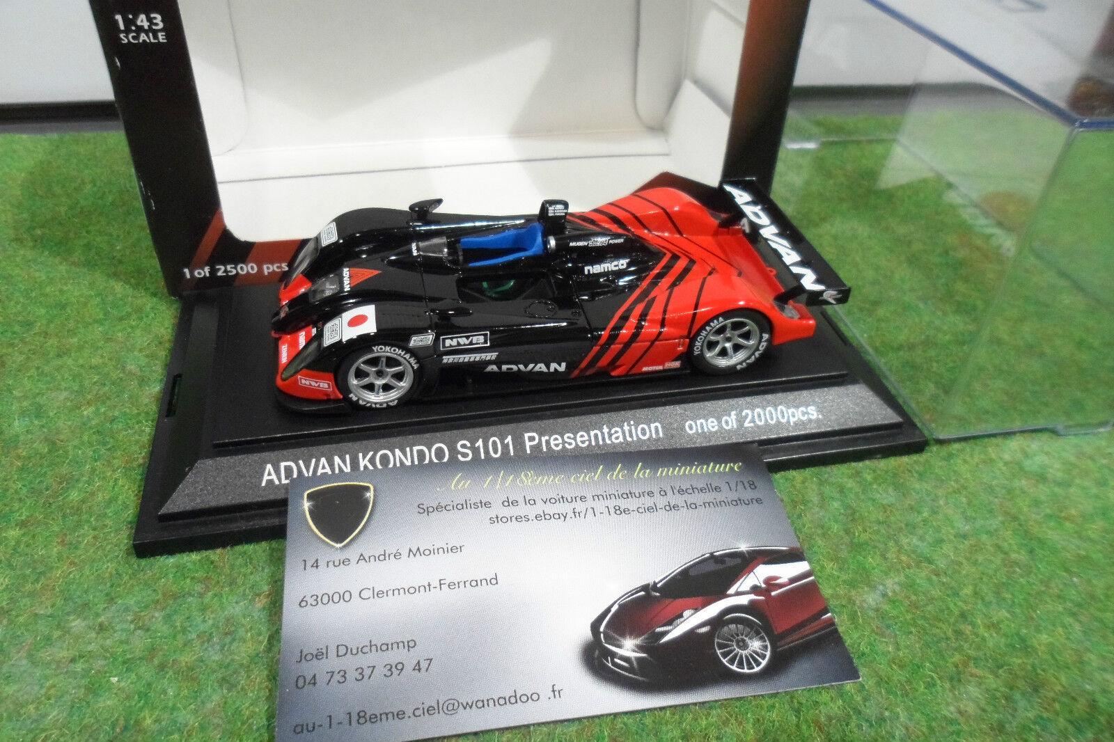 Hay más marcas de productos de alta calidad. ADVAN KONDO DOME S101 MUGEN MUGEN MUGEN LE MANS 2003 echell 1 43 EBBRO 492 voiture miniature  descuento online