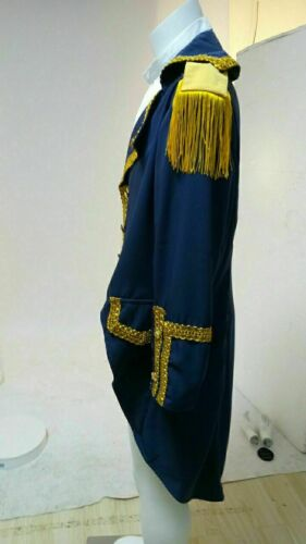 Colonial Hamilton cosplay Costume Musical Hamilton Cosplay jacket suit tailored*