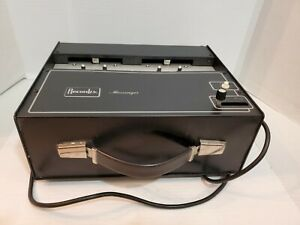 Recordex-Messenger-Audio-Cassette-Tape-Duplicator-Recorder-Model-031-1380029