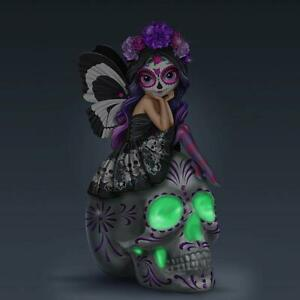 Spirit-of-The-Dearly-Loved-Glow-in-The-Dark-Sugar-Skull-Figurine